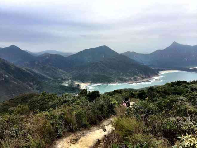 hiking trail in hong kong