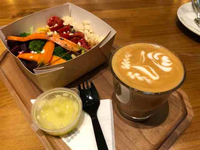 Salad and a Coffee