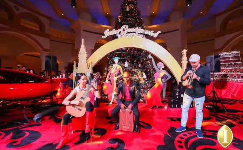 InterContinental Shenzhen Celebrated the Christmas Lighting Ceremony