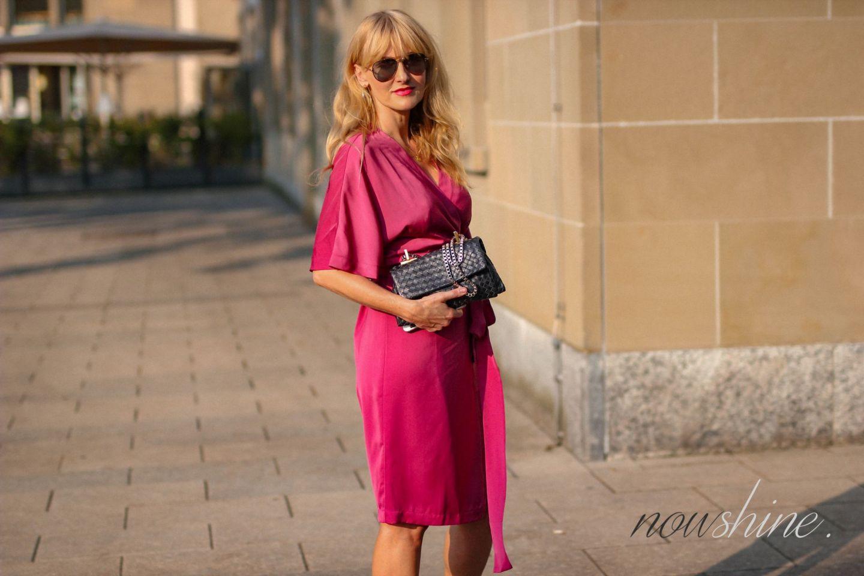 Wrap Dress - Edited Wickelkleid im Kimono Stil - Nowshine ü 40 Blog