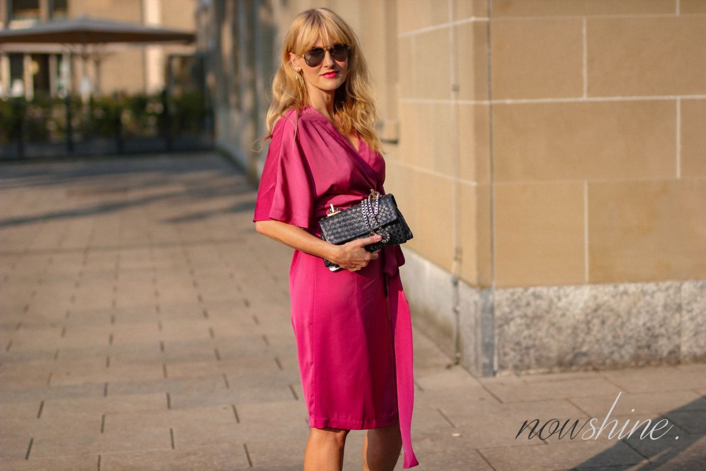 Wrap Dress - Edited Wickelkleid im Kimono Stil - Nowshine ü 40 Blog