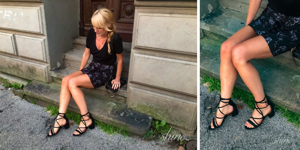 Lace up Sandalen von & Other Stories - Nowshine ü 40 Fashion, Beauty und Reiseblog