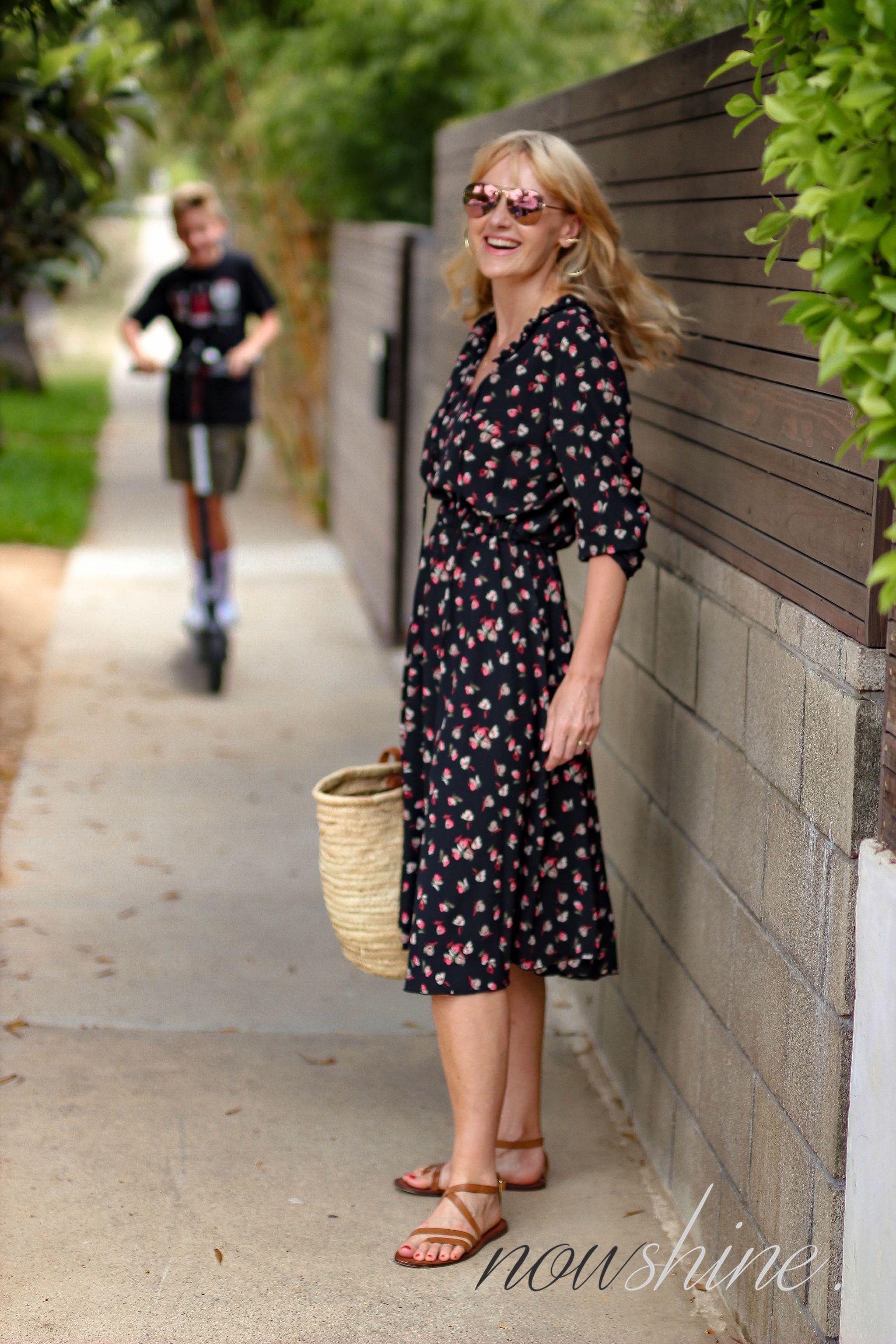 19e5d3575a2f22 Venice, Los Angeles, Abbot Kinney Blvd - Nowshine ü 40 Reiseblog Save. Aus  dem WENZ Katalog - Kleid mit Blumen ...