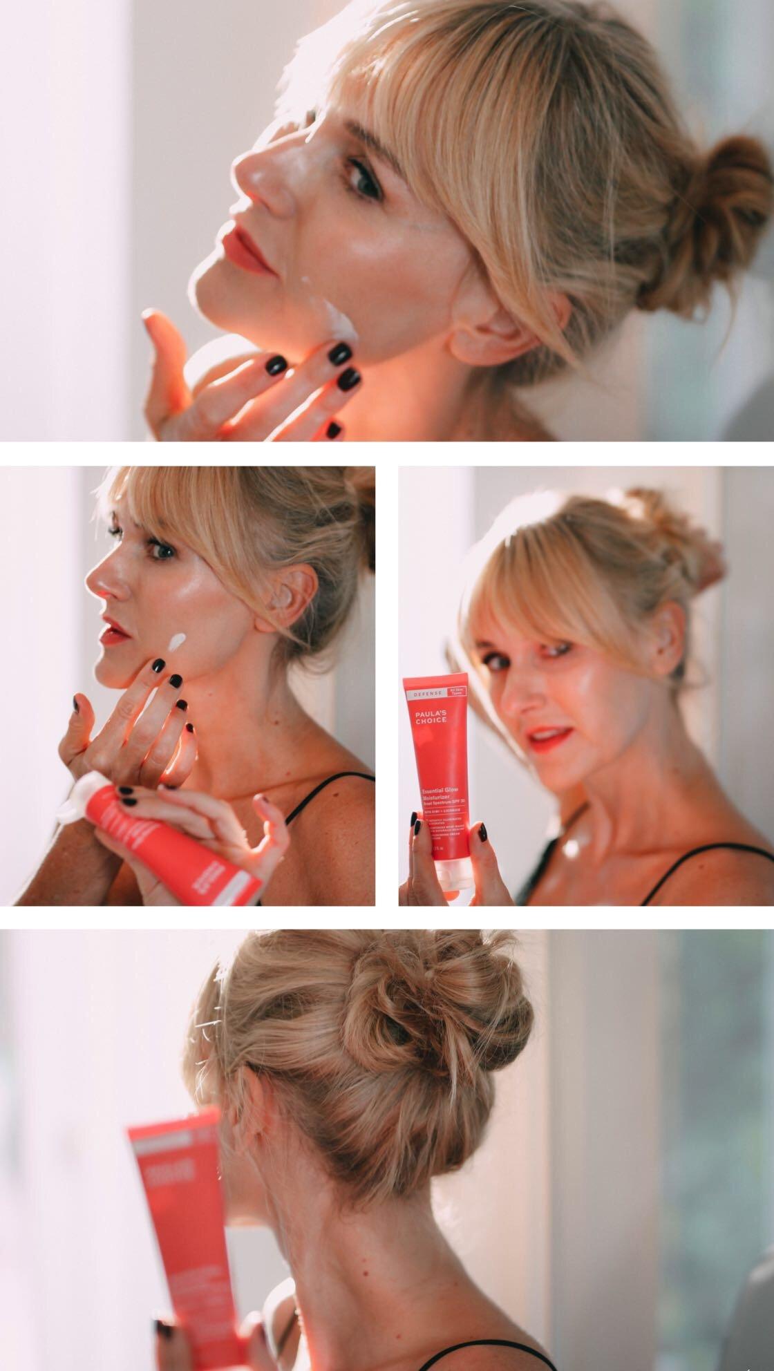 Defense Line von Paula´s Choice - Nowshine Beauty ü40 - my life, my city, my skin Kampagne