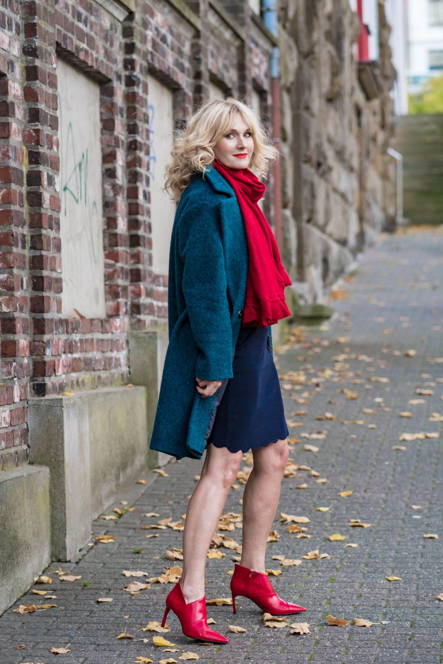 Ouftit Weihnachtsfeier-Dresscode festlich-Firmenparty-Büro-Gesamtoutfit Bonita