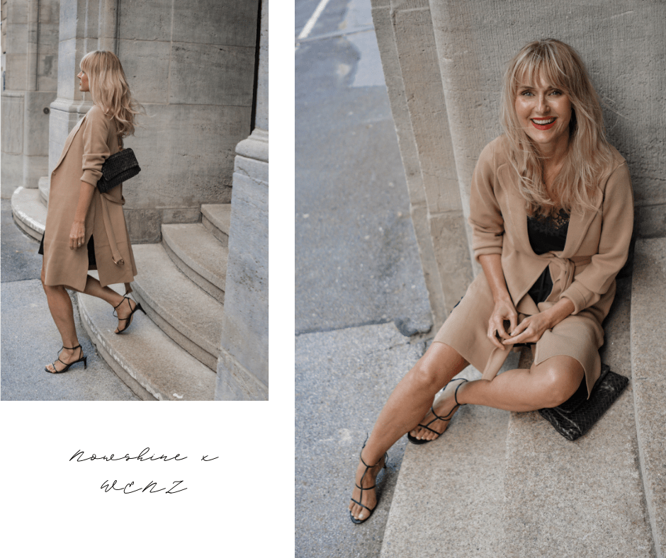 WENZfriends Day 2019 - Gewinne einen Styling-Tag mit der besten Freundin-Strickjacke in Beige von WENZ, Dorota Retterath Nowshine Mode, Beauty und Lifestyle Blog