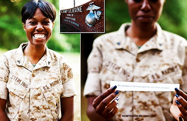 lance-corporal-monifa-sterling-court-martialed-for-refusing-to-remove-bible-verse-isaiah-54-17-kjv-united-states-marines