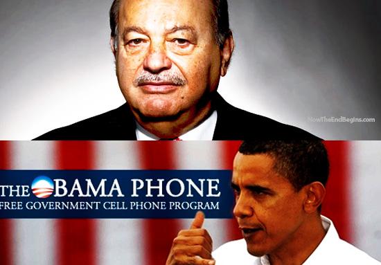 Carlos Slim Obamaphone