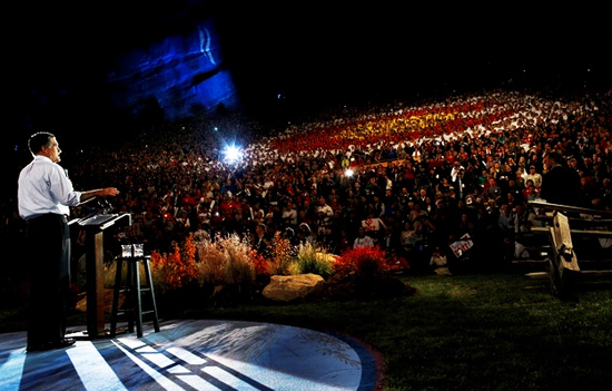 SUPERCHARGED! Mitt Romney Draws Over 10,000 Supporters In Massive Colorado Rally