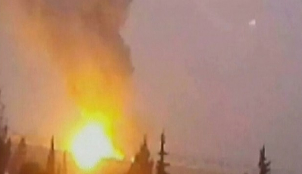 israeli-fighter-jets-strike-targets-in-damascus-syria-idf
