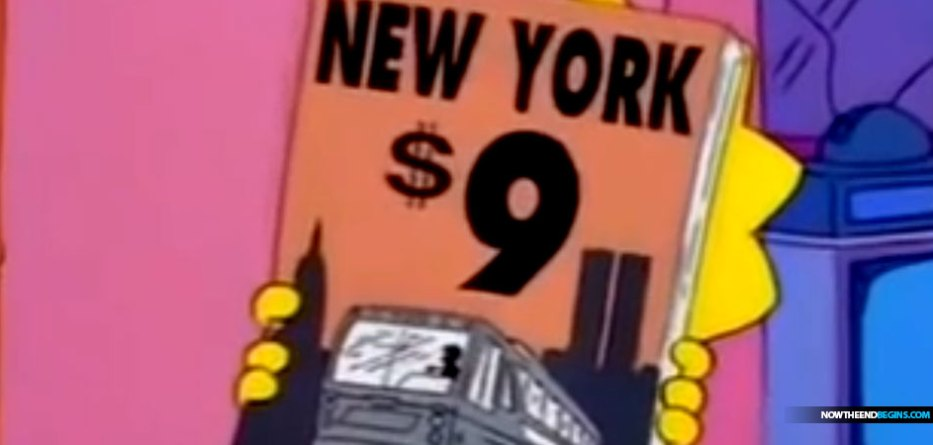 simpsons-911-predictive-programming-deep-state