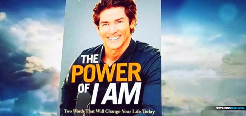 Joel Osteen The Power Of I Am Book