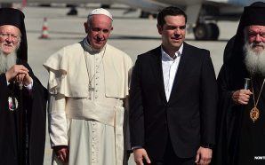 pope-francis-alexis-tsipras-greece-lesbos-muslim-migrants-april-2016-nteb