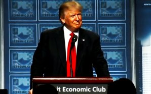 donald-trump-speech-detroit-had-14-female-hecklers-from-michigans-peoples-campaign-dnc-george-soros