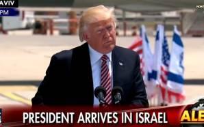 president-trump-historic-first-flight-between-saudi-arabia-israel-peace-middle-east