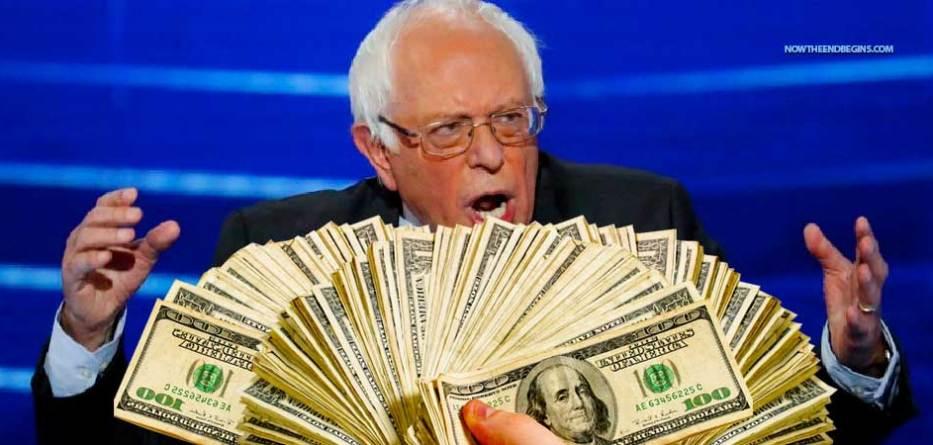 bernie-sanders-made-one-million-dollars-2016-socialism-marxist-liberal-democrats-vermont