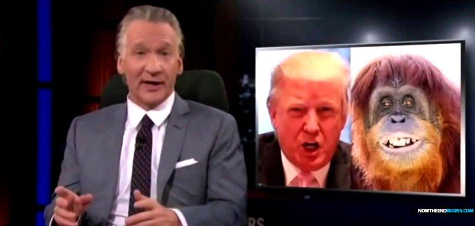 bill-maher-mocks-donald-trump-ape-photo-roseanne-barr-fired-liberal-hypocrites
