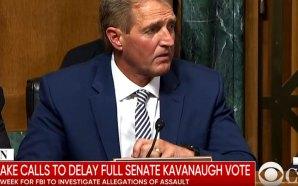 senator-jeff-flake-calls-for-delay-full-senate-judiciary-committee-vote-brett-kavanaugh