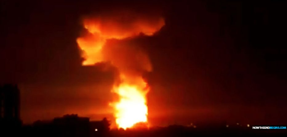 syria-port-city-latakia-bombed-russian-military-plane-shot-down-israeli-airstrikes-iran