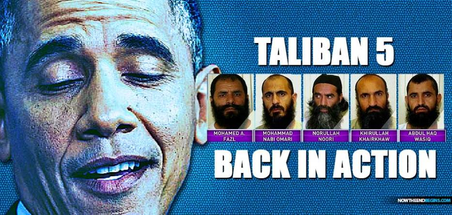 Talibã-5-libertado-por-obama-para-bowe-bergdahl-se juntar ao Afeganistão-terroristas islâmicos