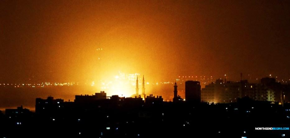 israel-idf-order-airstrikes-against-hamas-gaza-strip