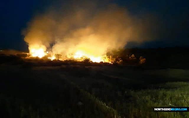 israel-strikes-targets-gaza-strip-after-wave-fire-balloon-attacks-eshkol