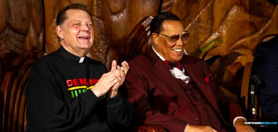 Louis Farrakhan, the leader of the Chicago-based Nation of Islam, spoke at the Rev. Michael Pfleger's St. Sabina Church amid heavy criticism of both men — Farrakhan for his past anti-Semitic and homophobic comments, and Pfleger for welcoming the divisive figurehead into his church.