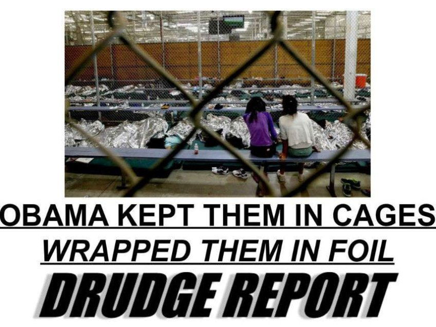Obama Put Kids In Cages