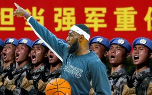 """Basketball superstar LeBron James was accused of turning a blind eye to Chinese repression on Tuesday after he criticized a Houston Rockets executive for angering China with a """"misinformed"""" tweet supporting protesters in Hong Kong."""