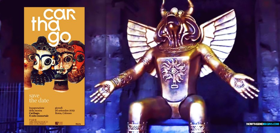"""The statue of Moloch was erected nine days prior to the opening of the Amazon Synod, which was plagued with controversy from the beginning after a ceremony in the Vatican Gardens involving the pagan goddess """"Pachamama"""" was held in the presence of Pope Francis and top-ranking prelates."""