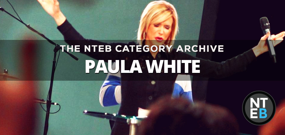 PROSPERITY GOSPEL DECEIVER PAULA WHITE TELLS FOLLOWERS TO SEND HER ONE MONTH OF THEIR SALARY TO 'HONOR GOD'