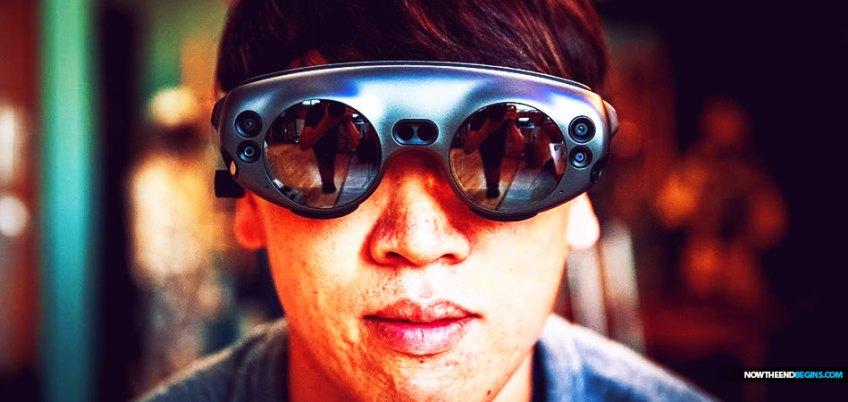 Magic Leap smart glasses augmented reality