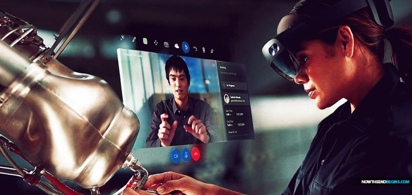 Microsoft HoloLens 2 smart glasses
