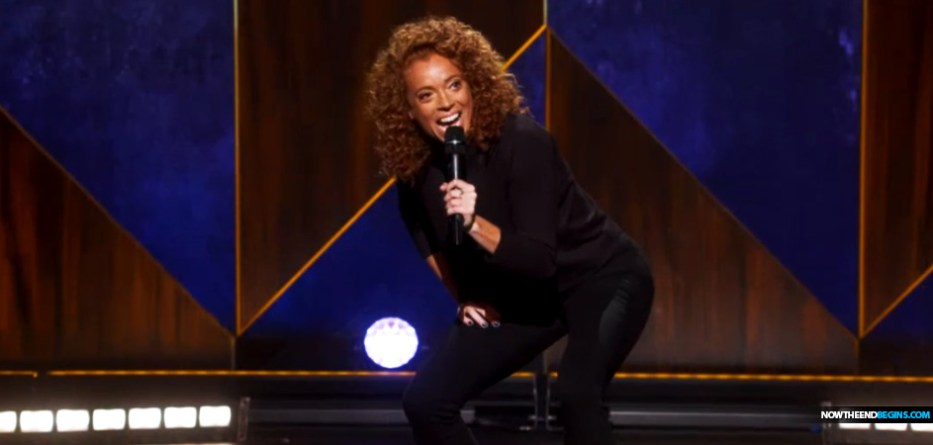 Michelle Wolf in Netflix special jokes about abortion