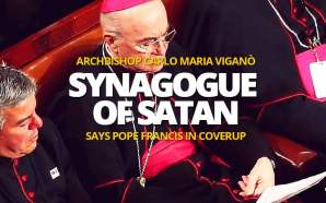 Archbishop Viganò concludes: The faithful have a right to know these sordid intrigues of a corrupt court. In the Heart of the Church we seem to glimpse the approaching shadow of the synagogue of Satan