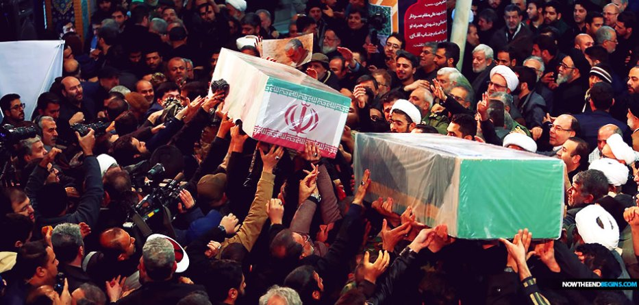 Qassem Soleimani burial delayed after 50 killed, 213 injured in Iran stampede