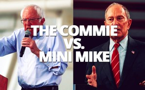 A new poll shows Communist Bernie Sanders surging to a double-digit lead over his rivals nationwide — and billionaire Mini Mike Bloomberg qualifying for Wednesday's Democrat debate.