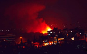 Israel strikes Iranian targets near Damascus
