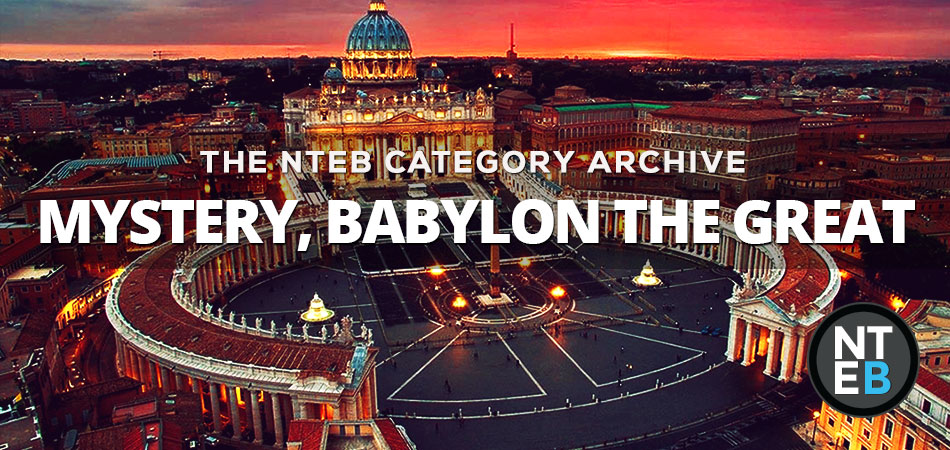 Mystery Babylon is not America, it's not Islam, its not the New World Order. It's exactly who the Bible says it is. It's the Roman Catholic Church system. Now you know. Tell a friend.