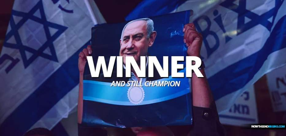 Benjamin Netanyahu defeats Benny Gantz with striking 60-seat bloc third election Israel Likud