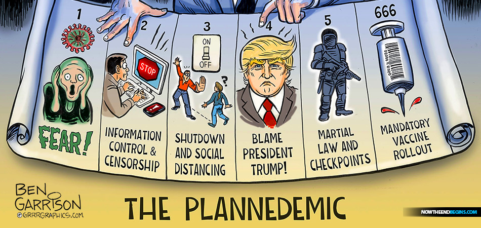 Welcome to the Plannedemic, the new normal brought to us by the New World Order with their COVID-19 coronavirus mass hysteria deception.