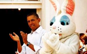 easter-obama-white-house-yoga-bunny-danica-patrick-2013