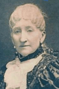 Portrait Mary Schenley sent to the DAR in 1892