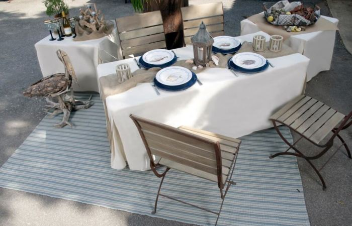 Entertaining + Tailgaiting With TableVogue Tablecloths!