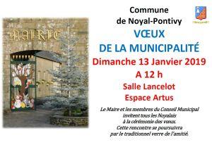 Vœux de la  Municipalité @ Salle Lancelot-Espace Artus