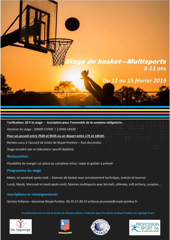 Stage Basket de Février2019