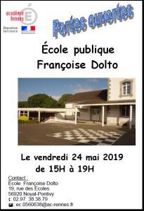 Portes Ouvertes école Françoise Dolto