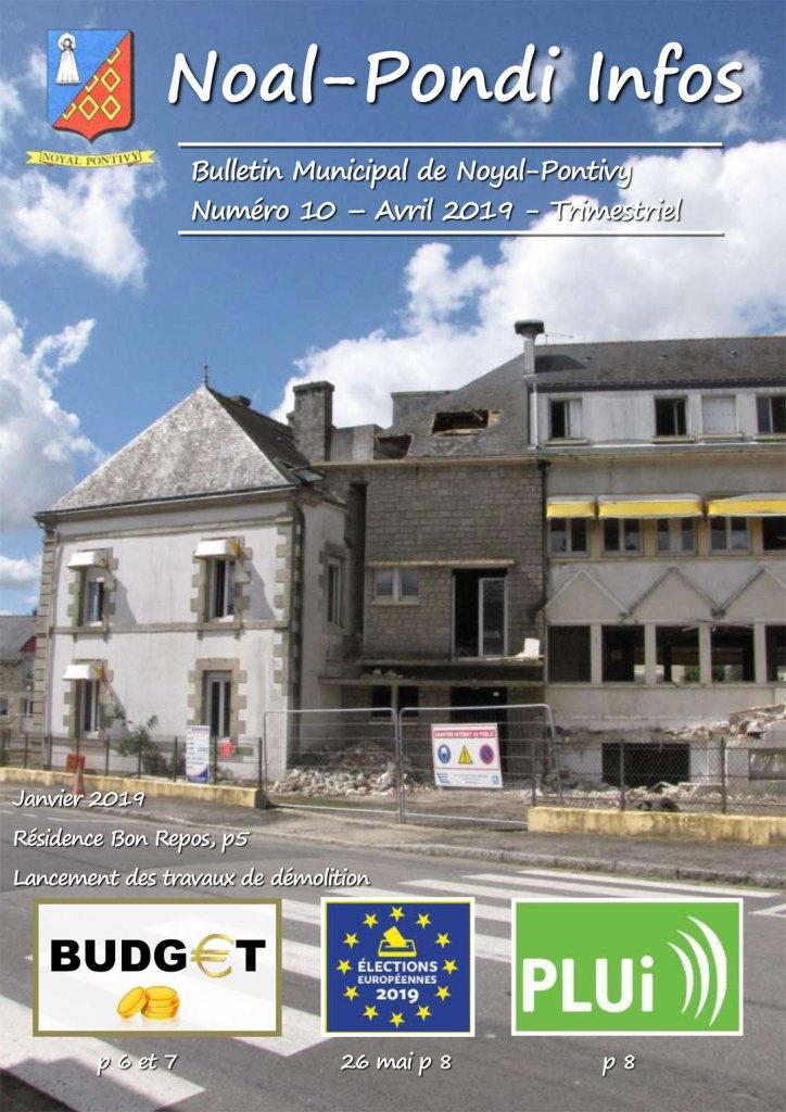 Bulletin Municipal d'Avril 2019