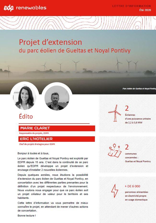 Projet extension du parc éolien