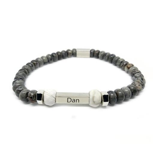 צמיד אבן לגבר   דן